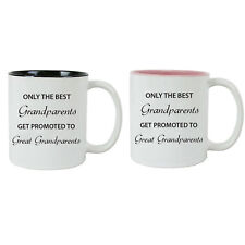 Only the Best Grandparents Get Promoted to Great Grandparents Coffee Mugs