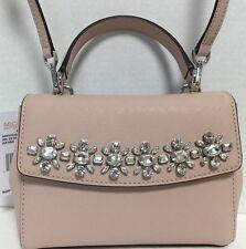 NEW Michael Kors XS Ava Top Handle Jewel Ballet Saffiano Leather Satchel Handbag