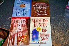 Madeline Hunter Historical Romance Set of 4 Paperbacks-One Signed Copy