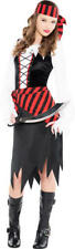 Pirate Girl Child X Large 14-16 Buccaneer Beauty 3 Pc Costume Theatre