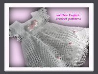 Crochet Pattern/ PDF Download English Crochet Pattern for crochet baby dress 99