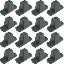 16 St. Adam Hall 4982 Plastikfüße 85 x 33 x 43 mm Möbelfüße Gerätefüße Boxenfüße