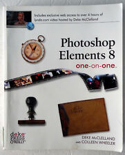Photoshop Elements 8 One-on-One McClelland & Wheeler 2010 PB