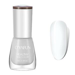 40-Color Nail Polish Eco-Friendly Easy Peel Off &Quick Dry Water Nail Polish 8ml