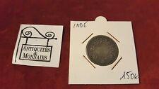 INDE  - PIECE HALF RUPEE 1862 ARGENT - REF29391