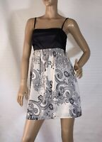 COOPER ST SIZE 10 PAISLEY PRINT SATIN DRESS