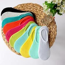 Lot 10Pairs Soft Mens Womens Low Cut Crew Cotton Ankle Sport Socks Casual Socks