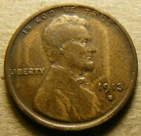 1913-S LINCOLN HEAD PENNY CENT_VF_