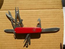 Victorinox Deluxe Tinker Swiss Army knife , red - hook but no pin