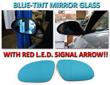 USA 05-10 VW Golf 5/JETTA/06-10 B6 Passat Red Arrow LED Turn Signal Mirror Glass