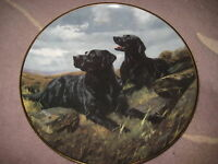 """FRANKLIN MINT """"READY TO GO"""" ROYAL DOULTON LIMITED EDITION PLATE, 8"""" DIAMETER"""