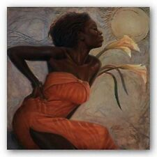 AFRICAN AMERICAN ART African Lilies Kevin Williams WAK