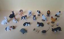 Dolls House Miniature Animals ~Cat~Dog~Rabbit~Tortoise~Chickens~Mouse Trap~ 1:12