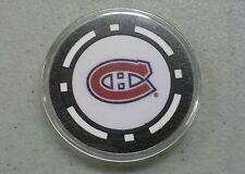 Montreal Canadiens - Texas Hold em Poker Chip Card Guard Protector NEW NHL