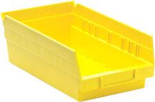 "Nesting Plastic Bin 12"" x 6-5/8"" x 4"", 30/Case Yellow"