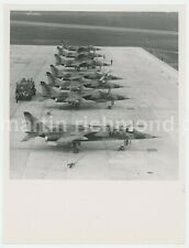 RAF SEPECAT Jaguar Line Up Large Original Photo, BZ686