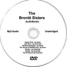 The Bronte Sisters 7 audiobooks  Mp3 DVD