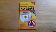 Twin Pack Window Sticker Fly Traps