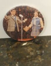 FRANK SINATRA AND BARBIE DOLL PIN BUTTON