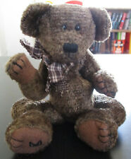 """Boyds Collection Bear #1364 Scruffy S. Beariluved Jointed Arms & Legs 11"""""""