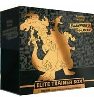 🔥💥🔥💥🔥Pokemon TCG Champion's Path Elite Trainer Box Sealed 10 Booster Packs
