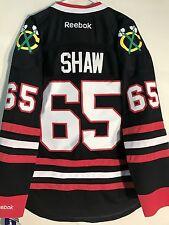 Reebok Premier NHL Jersey Chicago Blackhawks Andrew Shaw Black Alt sz S