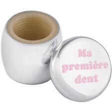 """Caja de Hada de los dientes """"grabado ma Premiere abolladura"""" en rosa esmalte de Ari D Norman"""