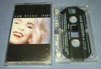 SAM BROWN STOP cassette tape album T8719