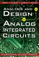 Analysis and Design of Analog Integrated Circuits by