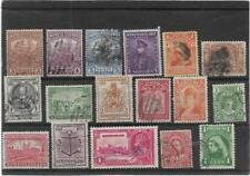 OLD BRITISH EMPIRE NEWFOUNDLAND QUEEN VICTORIA ON-WARDS USED COLLECTION