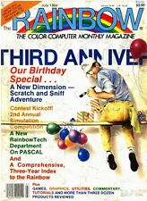 Rainbow magazine for the TRS-80 Color  Vintage on DVD