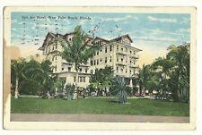Salt Air Hotel West Palm Beach Florida FL Postcard