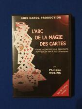 DVDE L'ABC de la Magie Des Cartes - Philippe Molina + jeu Bicycle