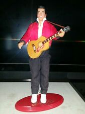 "Elvis Presley ""Jailhouse Rock"" Doll with Guitar & Doll Stand 1993"