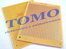 Basetta Millefori preforata 71x94mm PCB circuito stampato c.PC11