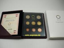 *** EURO KMS ÖSTERREICH 2003 PP Polierte Platte Austria Kursmünzensatz Coin Set