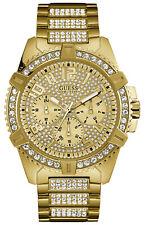 Reloj Hombre GUESS WATCHES GENTS FRONTIER W0799G2 de Acero inoxidable Dorado