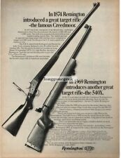 1969 Marlin 336 Rifle Vintage Print Ad