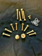 !BRASS! Fasteners KIT for Corvair Rochester Carbs. Engine compartment Bling!