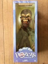 Rare Sideshow POZERS WOLFMAN Universal Monsters Poseable Plush doll