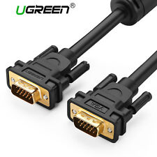 UGREEN VGA Cable VGA Male to Male Video Coaxial Monitor Cable Projectors HDTV 1m