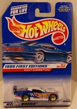 Hot Wheels 1999 First Editions Olds Aurora GTS-1 White w/Gold Lace BBS #5/26