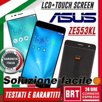 DISPLAY LCD+TOUCH SCREEN ORIGINALE PER ASUS ZENFONE 3 ZOOM ZE553KL Z01HD VETRO