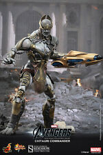 """Hot Toys The Avengers CHITAURI COMMANDER 12"""" Action Figure 1/6 Scale MMS227"""