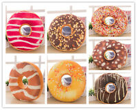 Doughnut Donut Shaped Ring Plush Large Soft Novelty Style Cushion Pillow