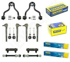 For Chevrolet GMC Front Control Arms w/ Inner & Outer Tie Rods & Sleeves