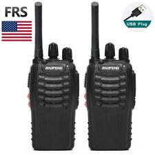 2x BAOFENG BF-88A FRS UHF 462-467MHz License-Free Two Way Radio Walkie Talkie US