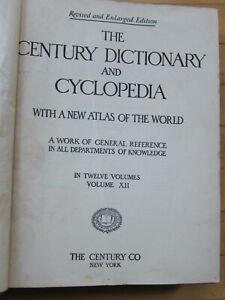 The Century Dictionary and Cyclopedia vol. XII Atlas, ed. Smith, 1913 maps