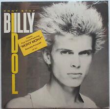 BILLY IDOL Don't Stop 1981 US SEALED LP Hype Sticker! MONY MONY Punk NEW WAVE