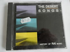 The Desert chansons-History of rai Music-CD